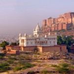 beautiful-panorama-of-mehrangarh-fort-with-jaswant-thada-white-temple-at-jodhpur-rajasthan-india-